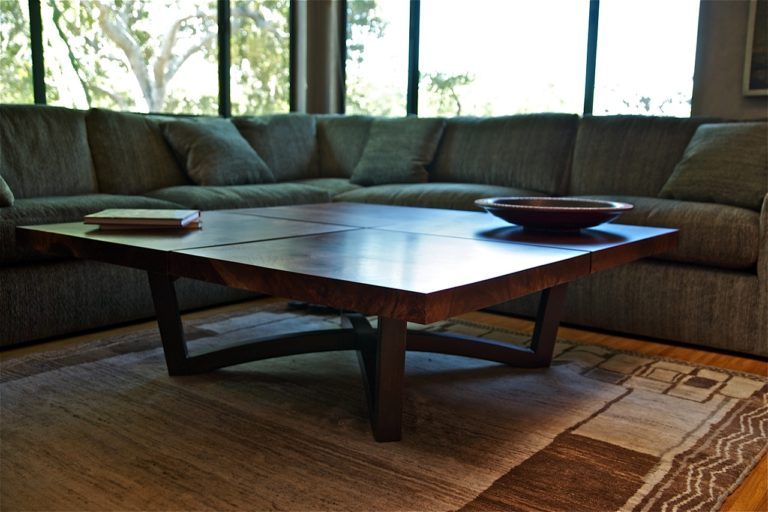 Four Square Coffee Table in Walnut