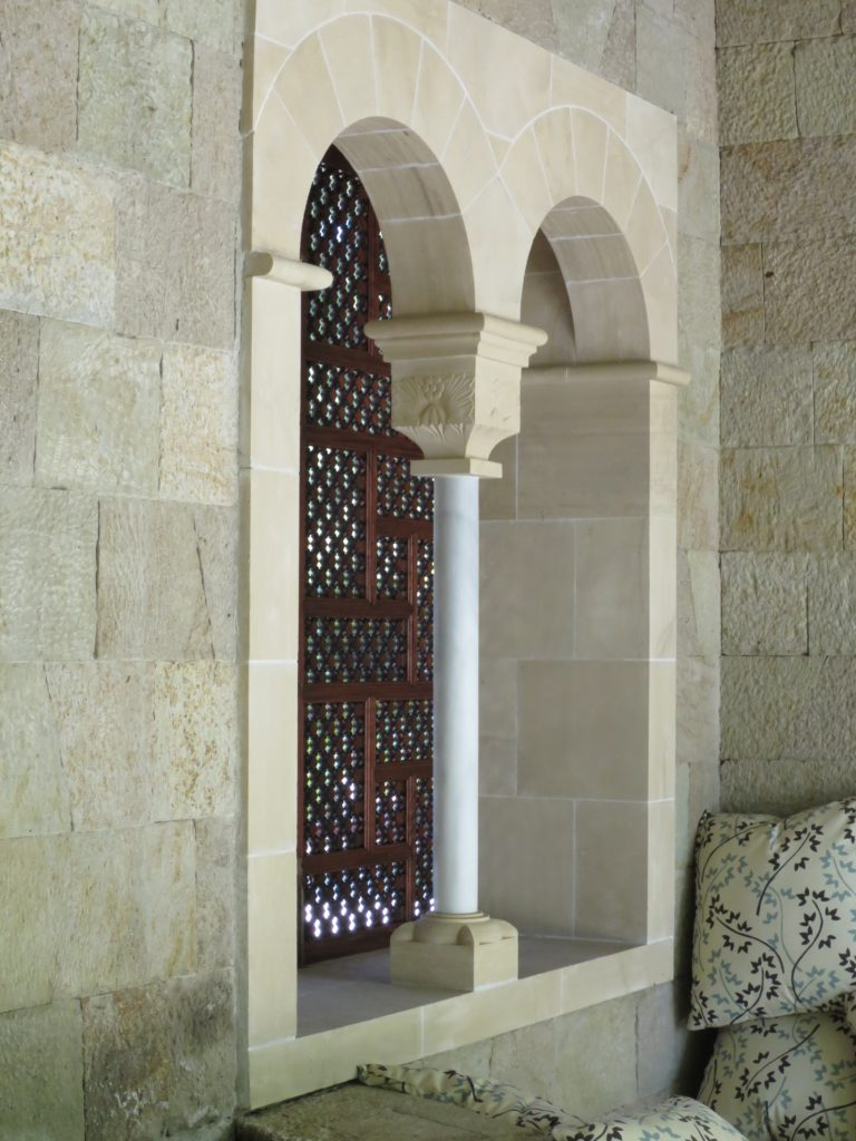 Gregory Hay Designs Moorish Shutters in Mahogany