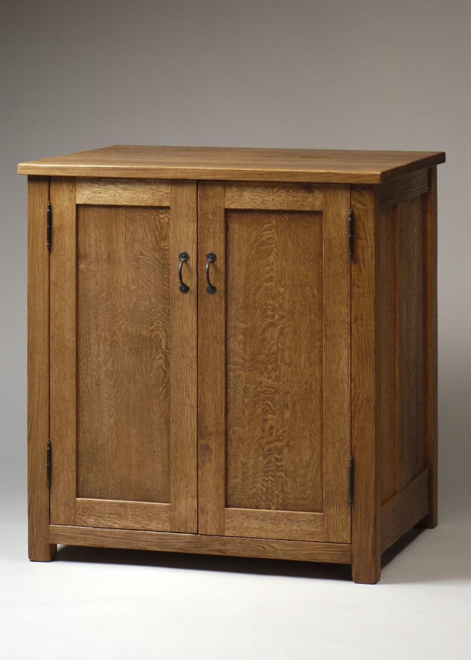 Gregory Hay Designs White Oak Television Cabinet