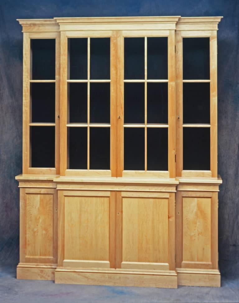 Gregory Hay Designs English Breakfront in Maple