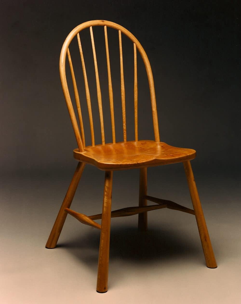 Gregory Hay Designs Windsor Sidechair in Bay/Laurel