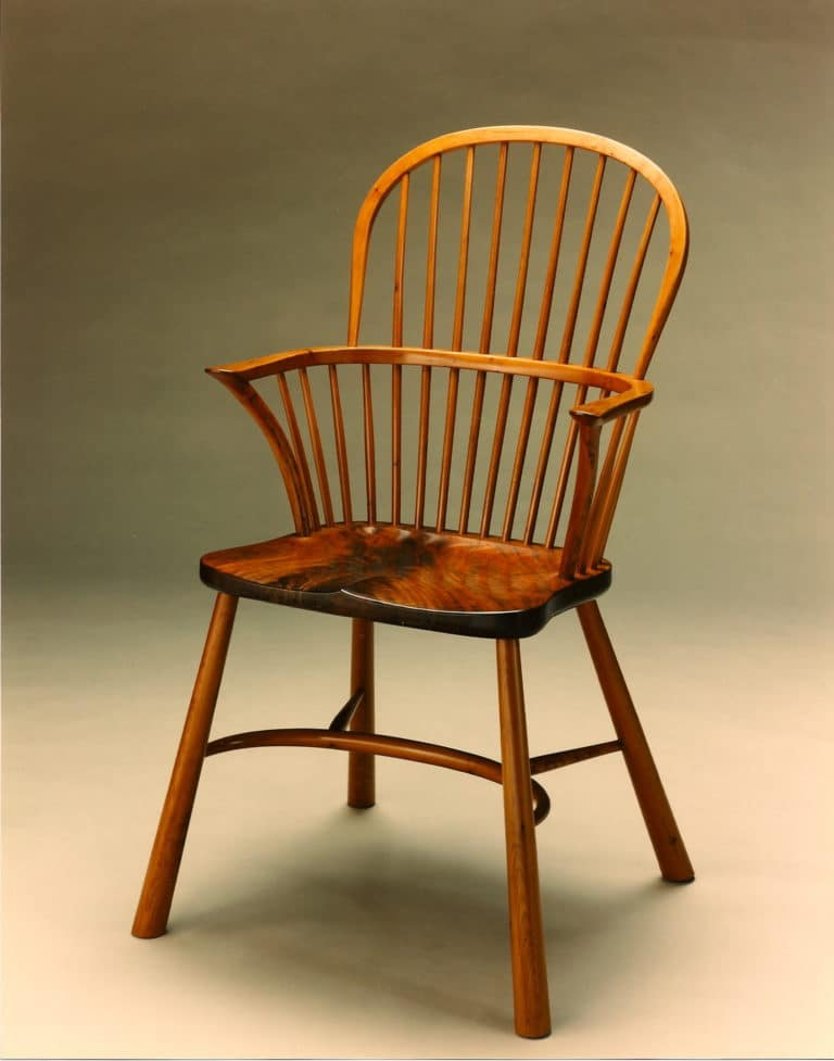 Gregory Hair Designs English Windsor Chair in Yew