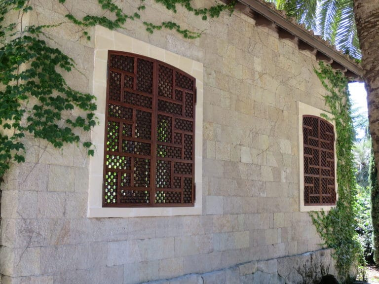 Gregory Hay Designs Moorish Shutters in Mahogany