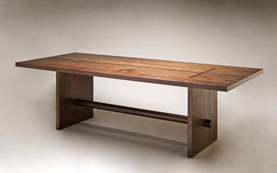 Gregory Hay Designs Stave Table in Eastern Walnut