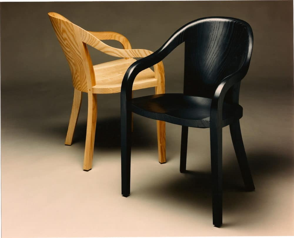 Gregory Hay Designs University Chair in Black and Natural Ash