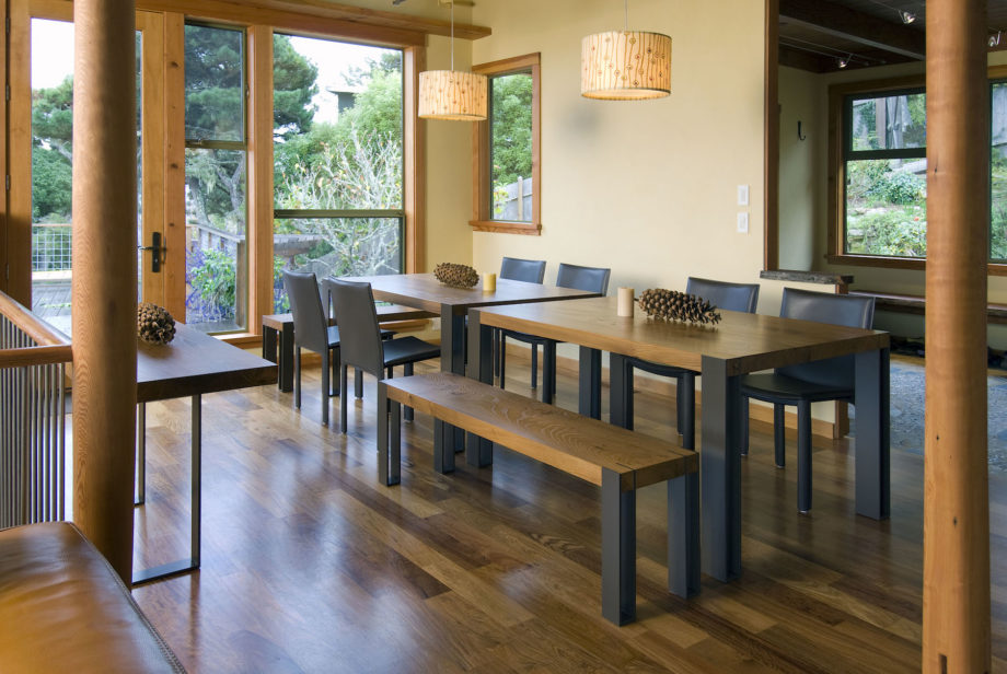 Gregory Hay Designs Inverness Table and Benches