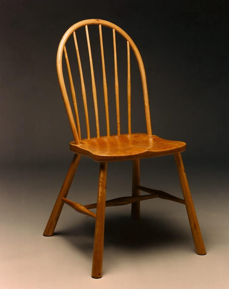 Gregory Hay Designs Windsor Sidechair in Bay/Laurel